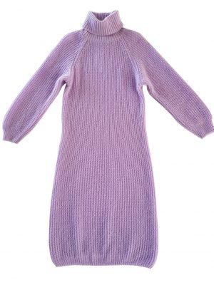 Gebreide jurk Lilac