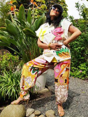 Pantalon à la Hermès.