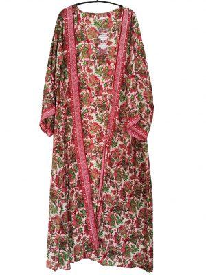 Lange zijden kimono